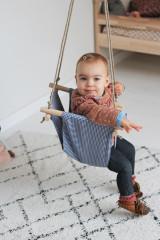Swing navy Fabric