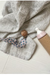 Swaddle in printed fabric april eleven