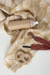 Large printed muslin cloths