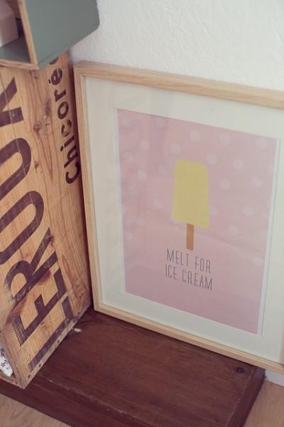affiche Ice cream April eleven