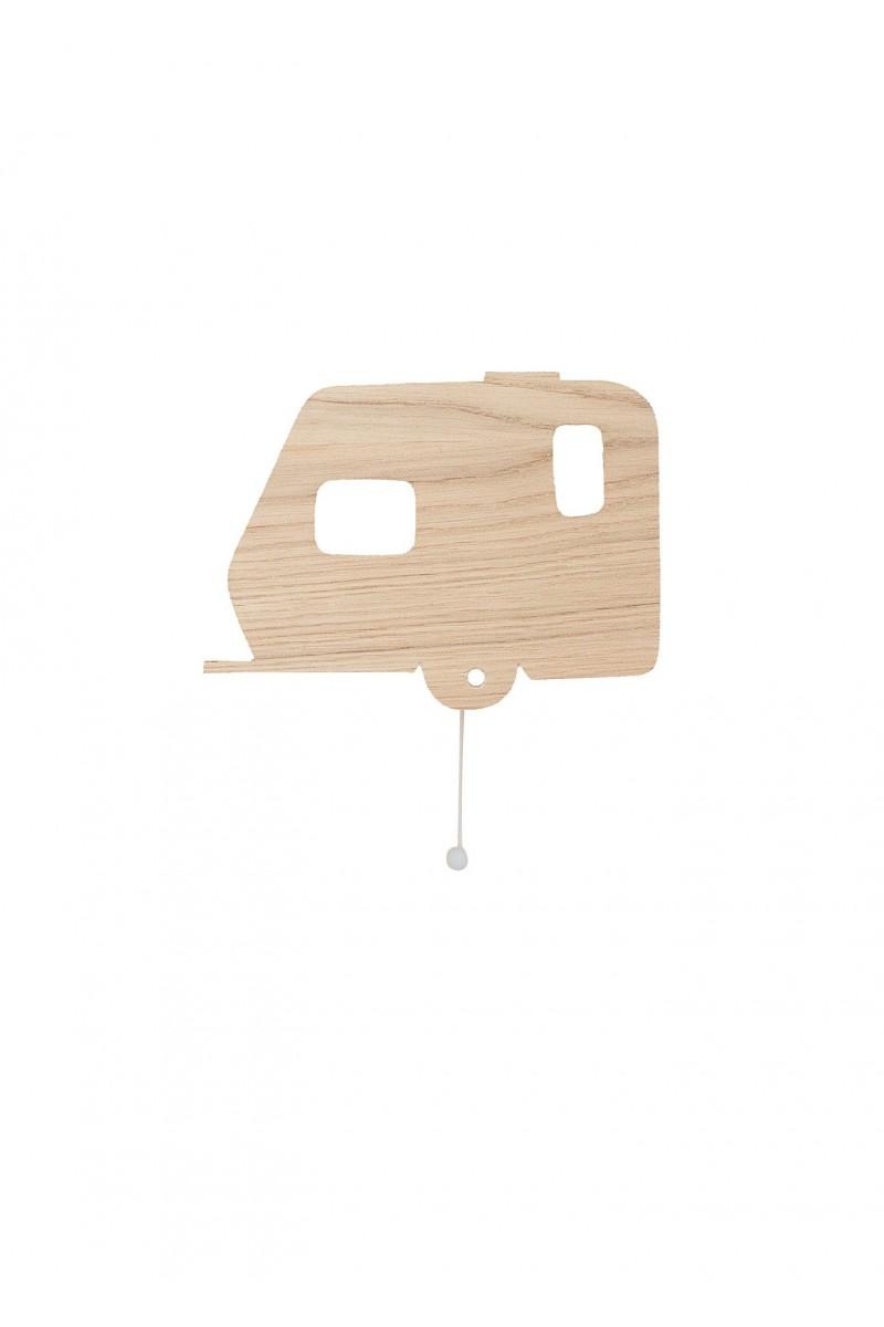 Wooden caravan music box for kids ro ~ Boite Musique Bois