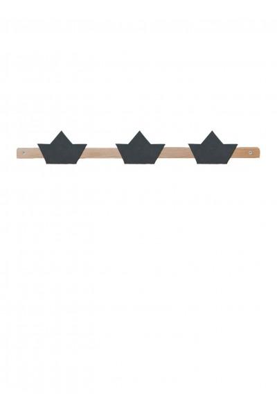 Origami boat coat rack