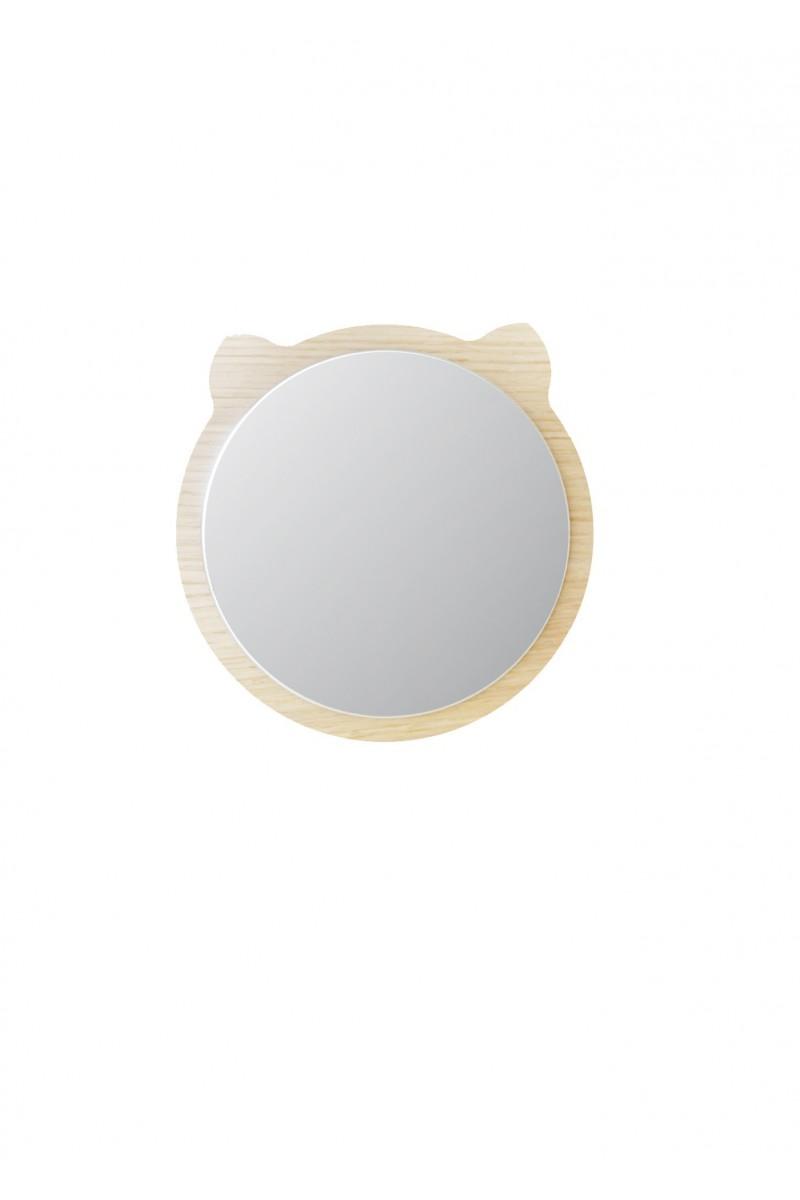 Miroir ours en bois pour chambre d 39 enfant for Miroir pour chambre