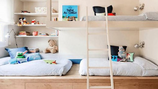 A room for several children