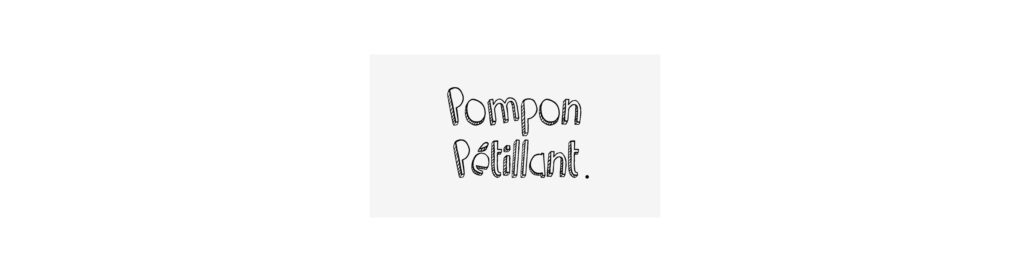 Pompon pétillant - boutique lyonnaise
