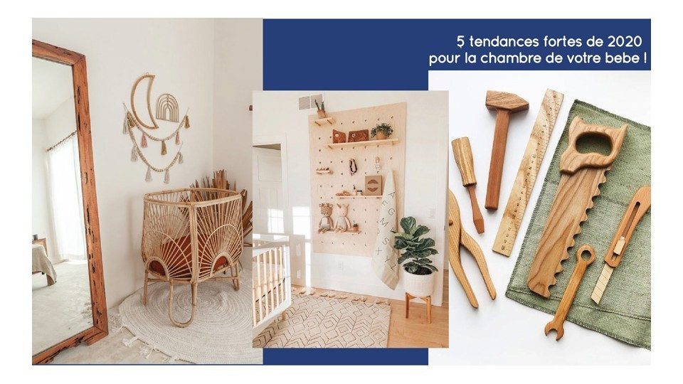 Baby room decor trend 2020
