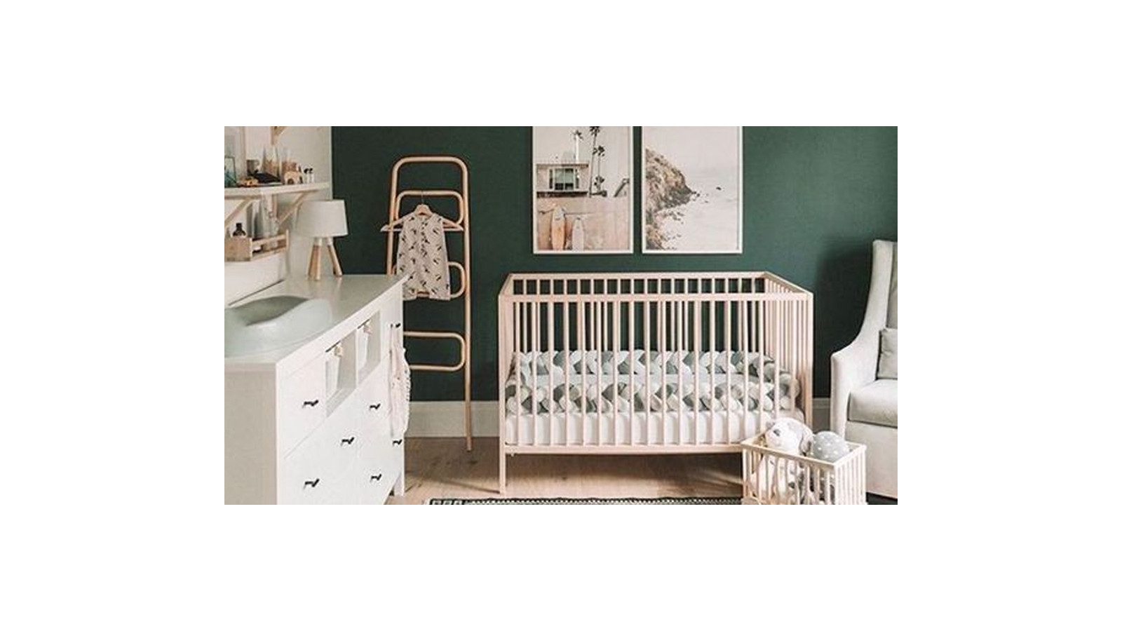 Arranging your baby's room: what to buy