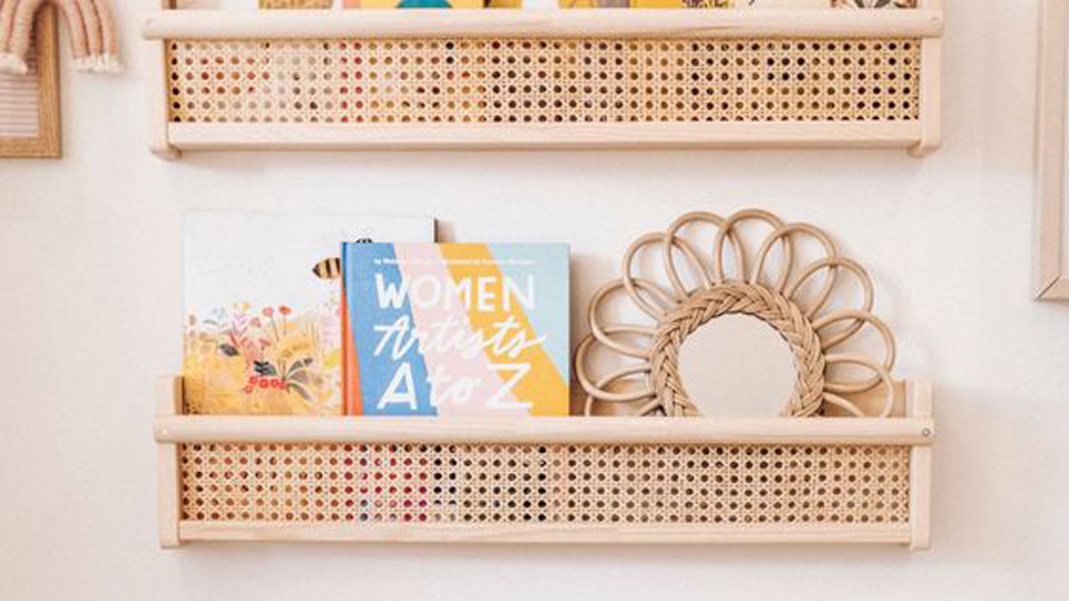 Our selection of shelves for a child's room